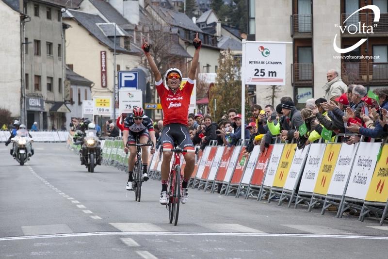 Харлинсон Пантано – победитель 5 этапа Вуэльты Каталонии-2018