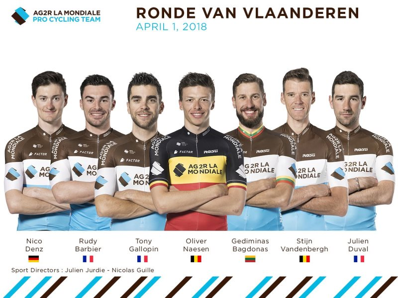 Оливер Насен примет участие в Туре Фландрии-2018