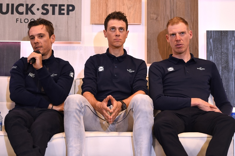 Состав команды Quick-Step Floors на Тур Фландрии-2018