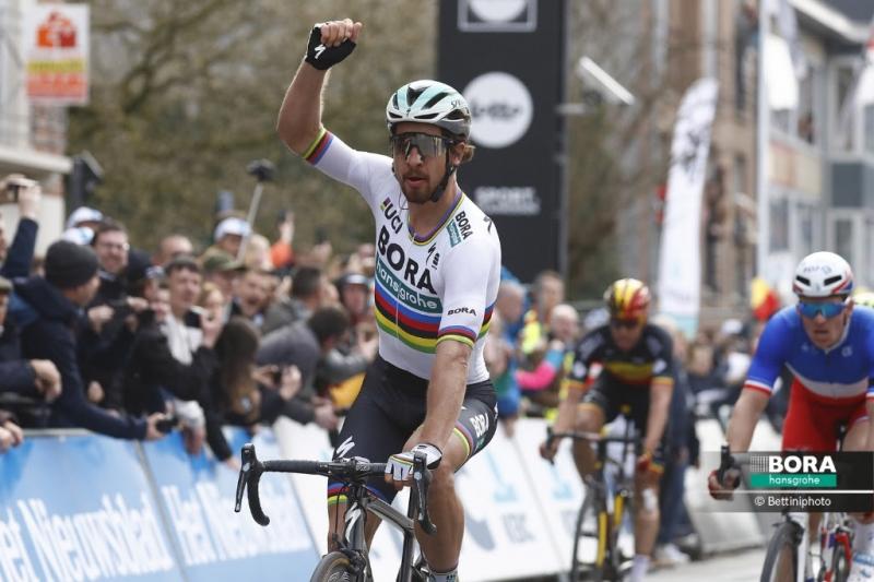 Петер Саган – трёхкратный победитель классики Гент-Вевельгем