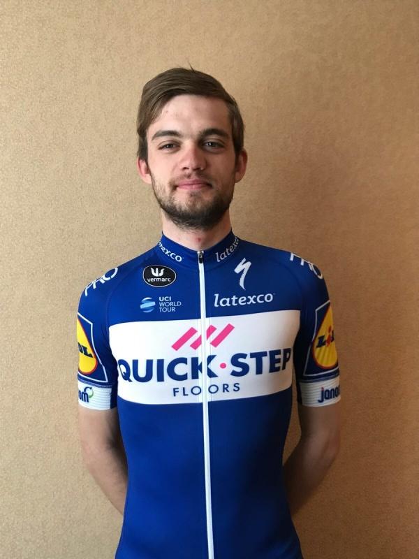 Каспер Асгрен – новый велогонщик команды Quick Step Floors