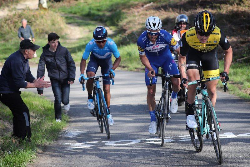 Жулиан Алафилипп - победитель 1 этапа Тура Страны Басков-2018