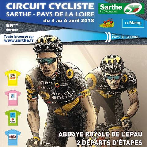 Circuit Cycliste Sarthe - Pays de la Loire-2018. Этап 4