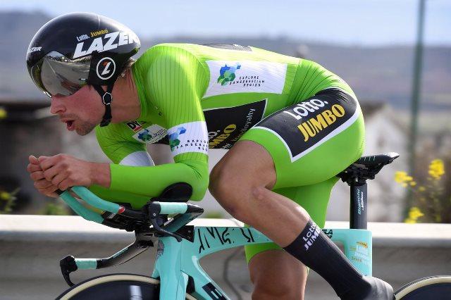 Примож Роглич – победитель 4 этапа Тура Страны Басков-2018