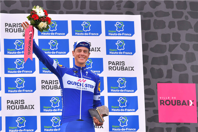 Ники Терпстра – призёр Париж-Рубэ-2018