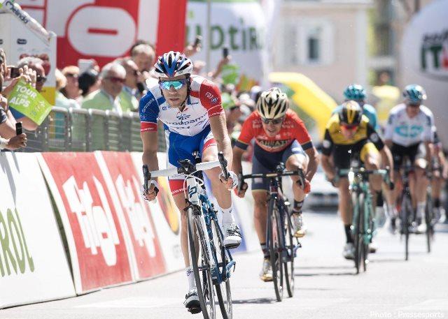 Бен О'Коннор, Тибо Пино, Крис Фрум о 3-м этапе Тура Альп-2018