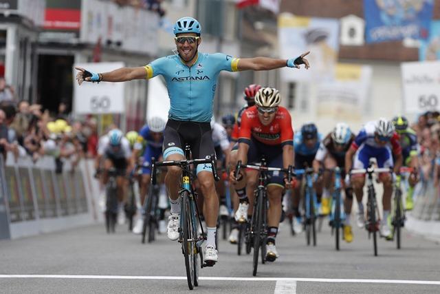 Тур Романдии. Этап 1. Омар Фраиле одерживает победу в спринте