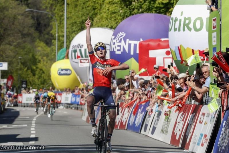 Марк Падун – победитель 5 этапа Тура Альп-2018