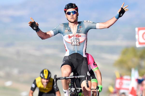 Тим Велленс – победитель 4 этапа Джиро д'Италия-2018
