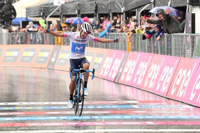Ричард Карапас - победитель 8 этапа Джиро д'Италия-2018