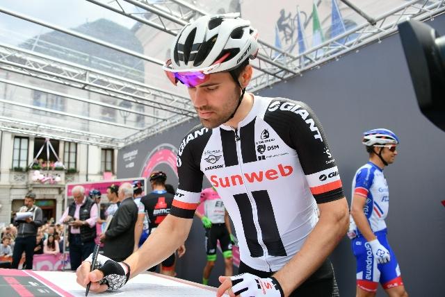 Том Дюмулин стартует на Тур де Франс-2018