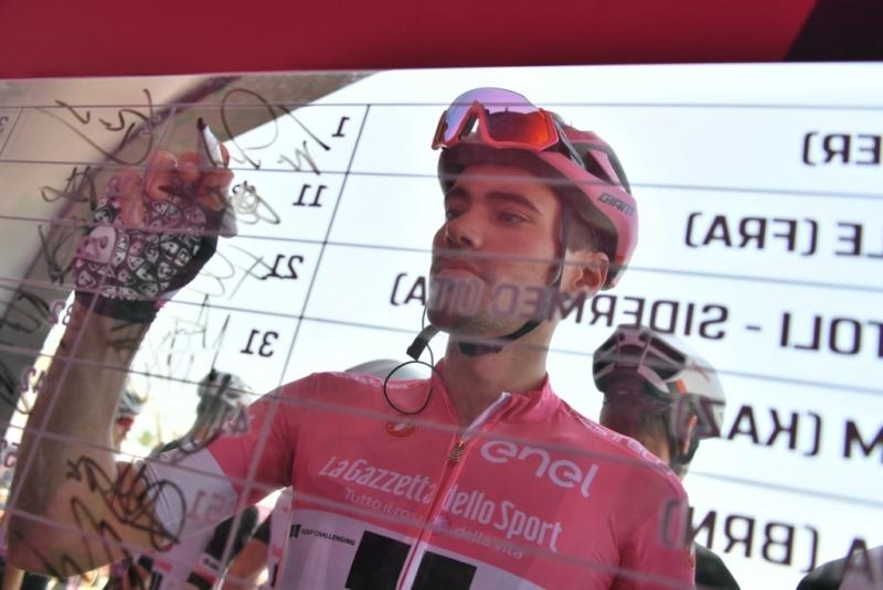Джиро д'Италия-2018. Результаты 2 этапа