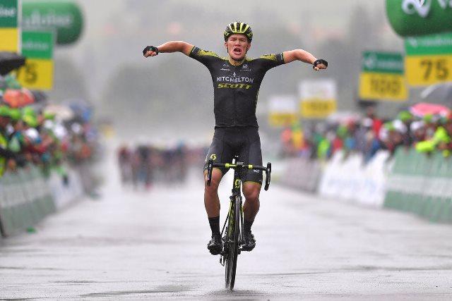 Крис Юл-Йенсен – победитель 4 этапа Тура Швейцарии-2018
