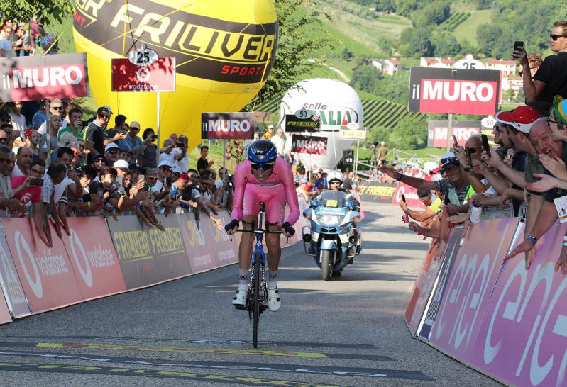 Александр Власов — победитель Giro d'Italia U23 / Photo credits: Isolapress