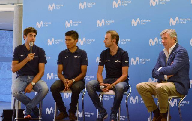 Наиро Кинтана, Алехандро Вальверде, Микель Ланда о предстоящем Тур де Франс-2018