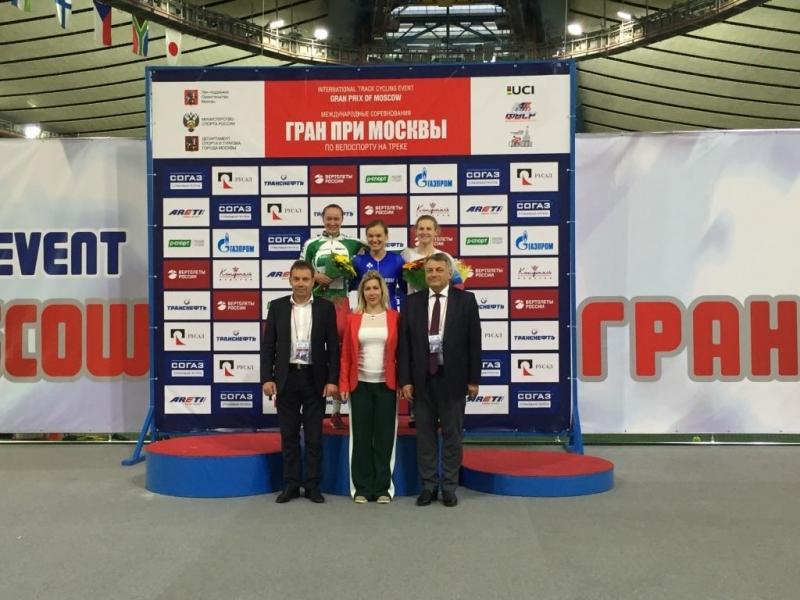 Результаты чемпионата России по велоспорту на треке