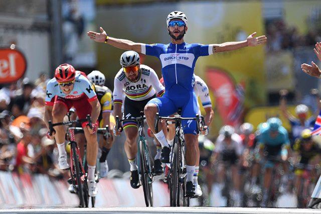 Первый этап Тур де Франс-2018, Победитель Фернандо Гавирия