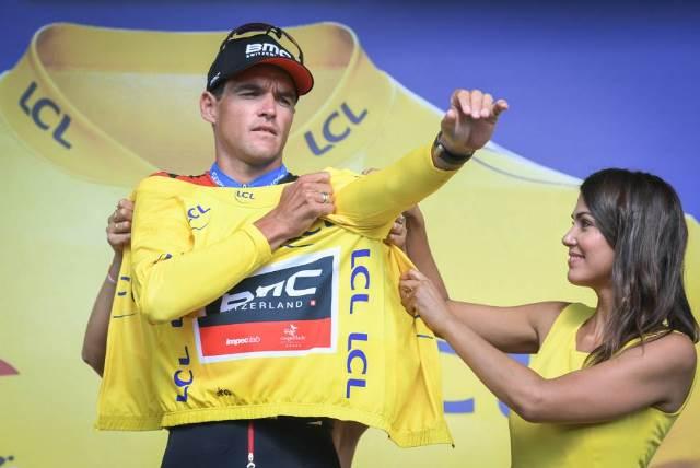 Команда BMC – победитель командной гонки 3-го этапа Тур де Франс-2018