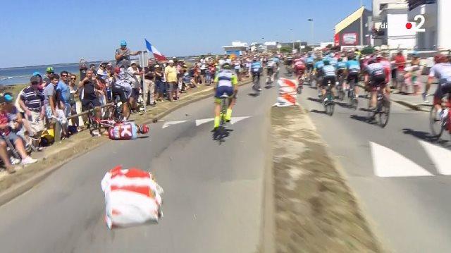 Тьеш Бенот, Майкл Мэттьюс, Роберт Кишерловски сошли с Тур де Франс-2018