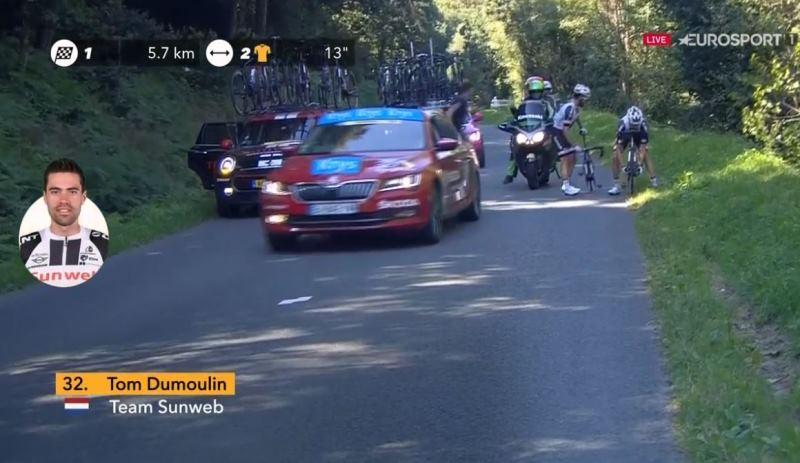 Том Дюмулин потерял время на 6-м этапе Тур де Франс-2018