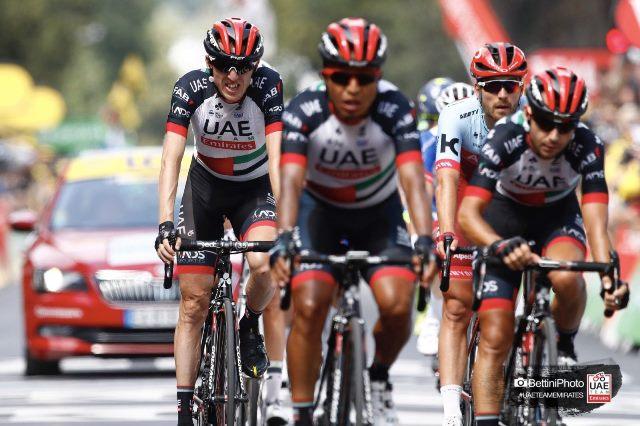 Дэн Мартин потерял время на 8-м этапе Тур де Франс-2018