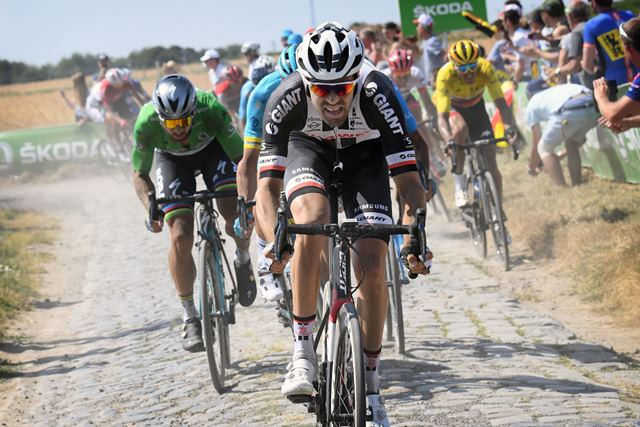 Том Дюмулин разочарован своим результатом на 9-м этапе Тур де Франс-2018