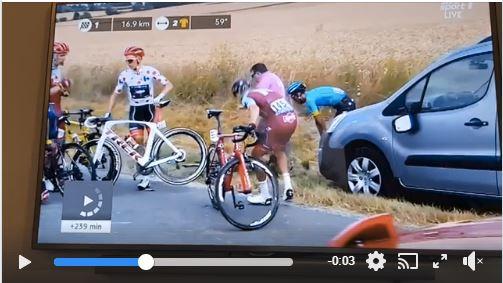 «А колесо то крутится!», - 8-й этап Тур де Франс-2018
