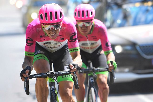 Ригоберто Уран: «На 9-м этапе Тур де Франс-2018 мы сделали всё, что могли»