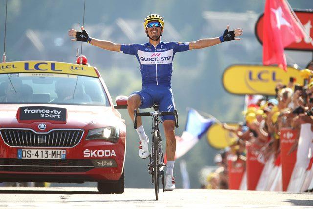 Жулиан Алафилипп – победитель 10 этапа Тур де Франс-2018
