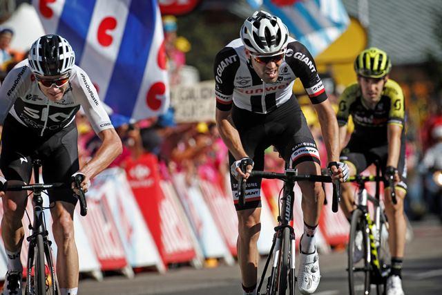 Том Дюмулин поднялся на 3-ю строчку общего зачёта Тур де Франс-2018 после атаки на 11-м этапе
