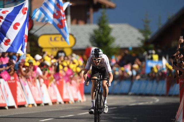 Герант Томас надевает жёлтую майку лидера, Крис Фрум – второй в общем зачёте Тур де Франс-2018 после 11 этапа