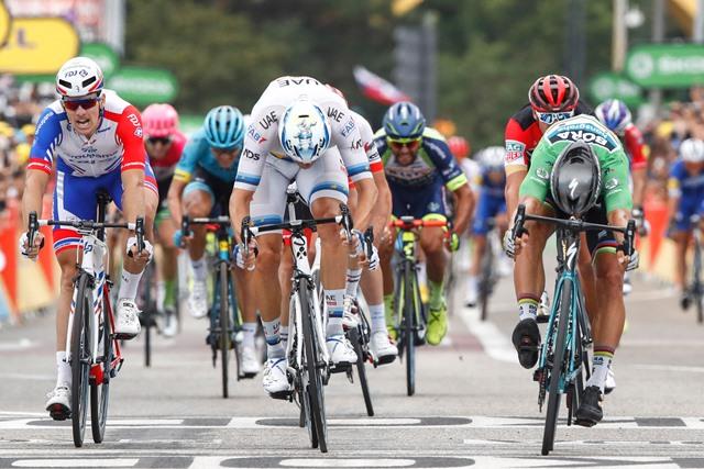 Петер Саган, Александр Кристофф, Арно Демар о 13-м этапе Тур де Франс-2018