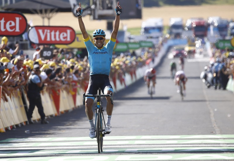 Омар Фраиле – триумфатор 14-го этапа Тур де Франс-2018