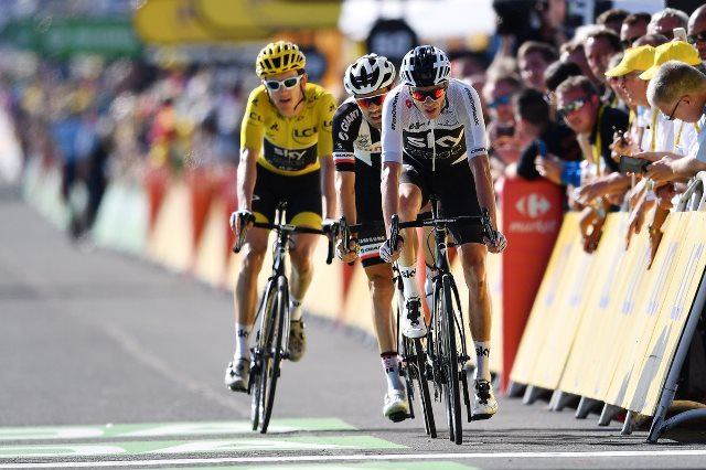 Примож Роглич, Герант Томас, Крис Фрум, Том Дюмулин, Дэн Мартин о 14-м этапе Тур де Франс-2018