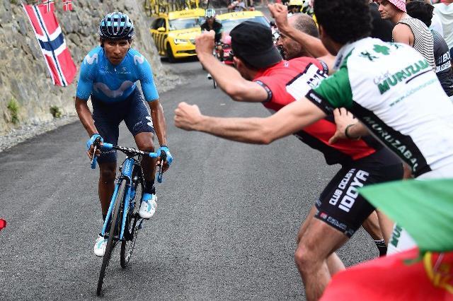 Наиро Кинтана о 17-м этапе Тур де Франс-2018