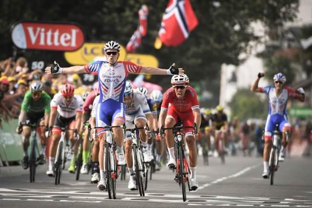 Арно Демар – победитель 18 этапа Тур де Франс-2018