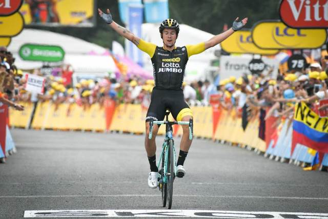Примож Роглич - победитель 19 этапа Тур де Франс-2018