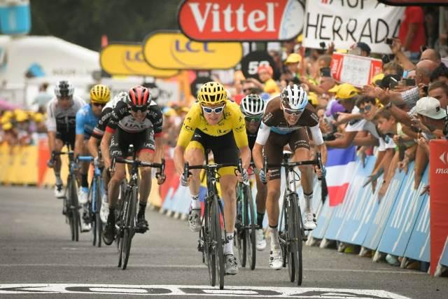 Герант Томас и Крис Фрум о 19 этапе Тур де Франс-2018