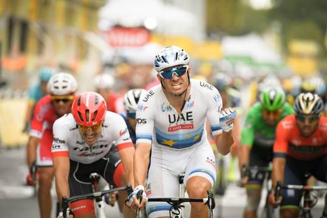 Александр Кристофф – победитель 21 этапа Тур де Франс-2018