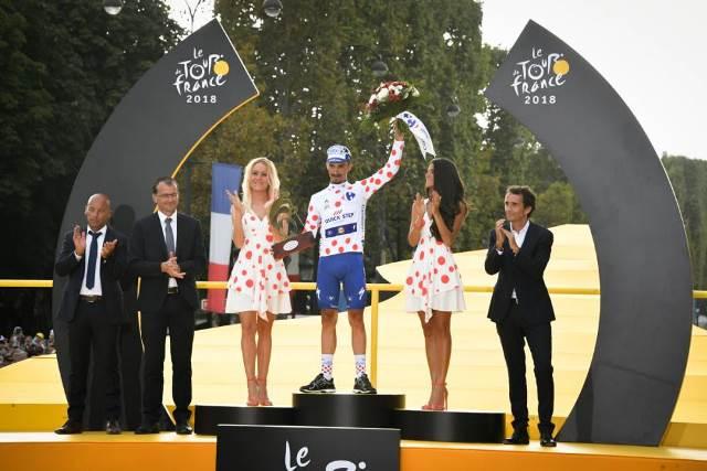 Жулиан Алафилипп – победитель горной классификации Тур де Франс-2018