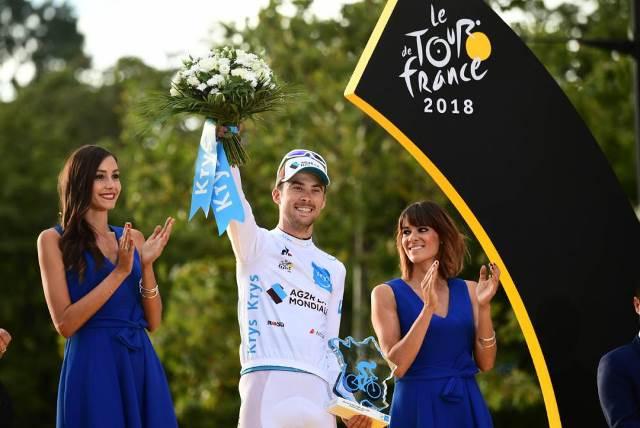 Пьер Латур – победитель классификации лучшего молодого гонщика Тур де Франс-2018