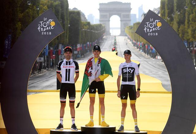 Том Дюмулин – призёр Тур де Франс-2018