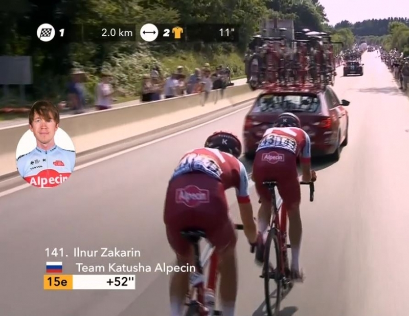 Завалы и падения на 4-м этапе Тур де Франс-2018