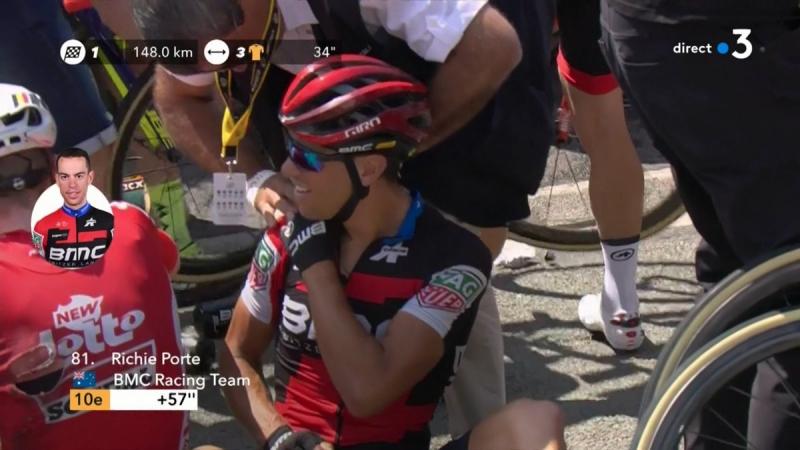 Ричи Порт сошёл с Тур де Франс-2018 на 9-м этапе