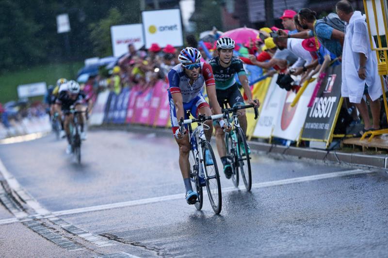 Михал Квятковски - победитель,  Саймон Йейтс, Тибо Пино - призёры Тура Польши-2018