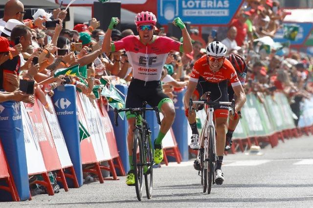 Саймон Кларк – победитель 5 этапа Вуэльты Испании-2018