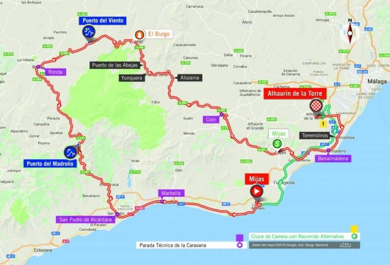 Вуэльта Испании-2018, превью этапов: 3 этап, Михас - Алаурин-де-ла-Торре