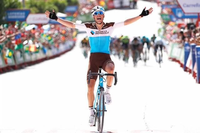 Тони Галлопан – победитель 7 этапа Вуэльты Испании-2018