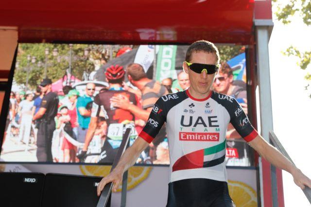 Дэн Мартин не выйдет на старт 10 этапа Вуэльты Испании-2018