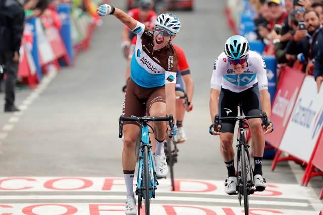 Александр Женье – победитель 12 этапа Вуэльты Испании-2018